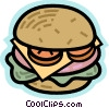 Hamburgers Vector Clipart illustration