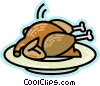Vector Clip Art graphic  of a Poultry