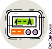 Vector Clip Art graphic  of a Pagers