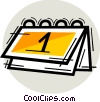 Calendars Vector Clipart image