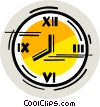 Wall Clocks Vector Clip Art picture