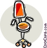 Vector Clipart image  of a Chairs