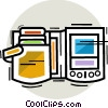 Vector Clip Art image  of a Personal Organizers Digital