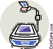 Overhead Projectors Vector Clip Art picture