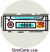 Vector Clipart image  of a Radios