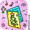 Christmas Cards Vector Clipart graphic