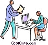 Collaboration Vector Clip Art graphic