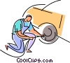 Auto Mechanics Vector Clipart picture