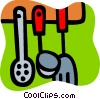 Vector Clip Art graphic  of a Cooking Tools