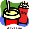 Vector Clipart graphic  of a Ice Cream and Frozen Treats