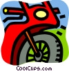 Street Bikes Vector Clipart image