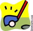 Vector Clipart illustration  of a Golf