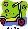 Scooters Vector Clipart illustration