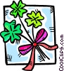 Vector Clip Art picture  of a clover