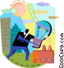 Idea Concepts Vector Clipart picture