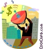 Financial Concepts Vector Clipart image