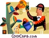 Vector Clipart graphic  of a Idea Concepts