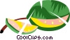 Vector Clip Art graphic  of a Watermelons