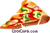 Slice of Pizza Vector Clipart graphic