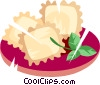 Vector Clipart picture  of a Pasta