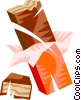 Vector Clipart picture  of a Chocolates