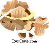 Desserts Vector Clipart illustration