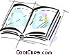 Vector Clipart picture  of a Books