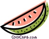 Watermelons Vector Clipart graphic
