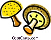 Mushrooms Vector Clipart image