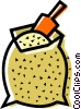 Vector Clip Art image  of a Rice