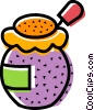 Vector Clipart illustration  of a Jams