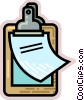 Clipboards Vector Clip Art graphic