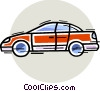 Family Cars Vector Clipart graphic