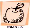 Vector Clipart picture  of an Apples