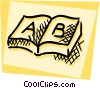 Books and Records Vector Clip Art picture