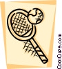 Balls and Rackets Racquets Vector Clip Art picture