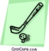 Vector Clip Art picture  of a Golf