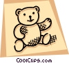 Teddy Bears Vector Clipart illustration