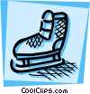 Vector Clipart graphic  of a Figure Skating