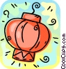 Vector Clipart picture  of an an Asian lantern