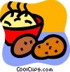 Vector Clipart graphic  of a Potatoes