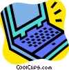 Laptops and Notebook Computers Vector Clipart image