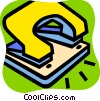 Hole Punchers Vector Clipart illustration