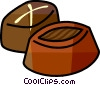 Chocolates Vector Clipart illustration