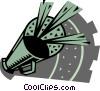 Megaphones Vector Clip Art picture
