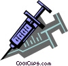 Hypodermic Needles Syringes Vector Clipart graphic