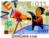 Miscellaneous Vector Clipart illustration