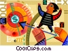 Financial Concepts Vector Clipart illustration