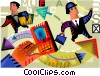 Communication Concepts Vector Clip Art picture
