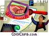 Investigation and Research Vector Clipart illustration